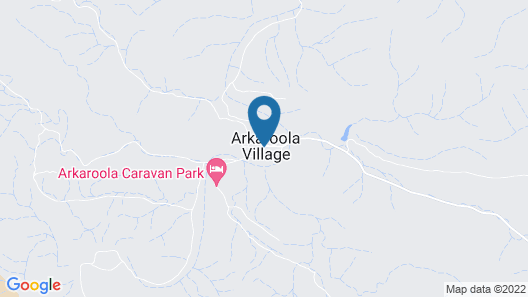 Arkaroola Wilderness Sanctuary Map