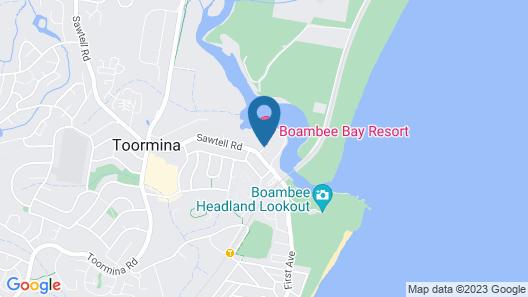 Boambee Bay Resort Map