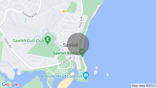 Ocean Sands 7 - Sawtell, NSW Map