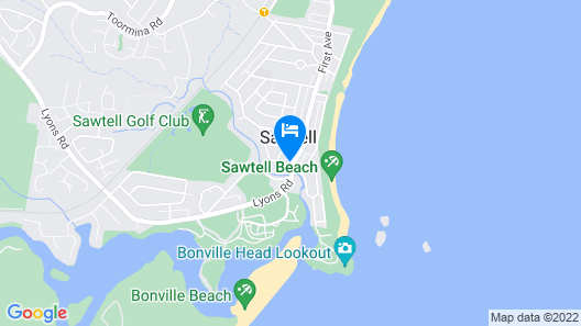 13 First Avenue Sawtell Map