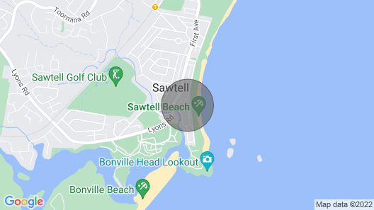 Solitaire 2 - Sawtell, NSW Map