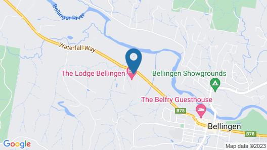 Bellingen Valley Lodge Map