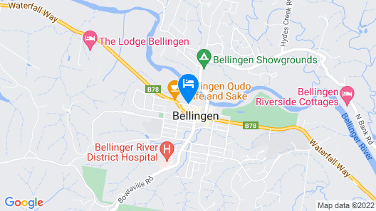 The Belfry Guesthouse Map