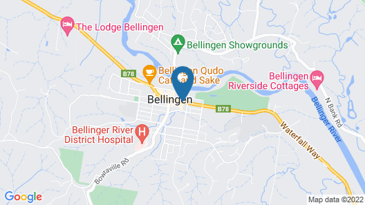 Diggers Tavern Map