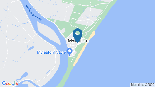Reflections Holiday Parks Mylestom Map