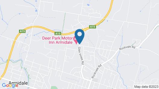 Deer Park Motor Inn Map