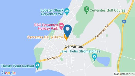 Pinnacles Edge Resort Map