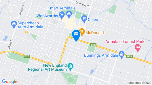 Loloma Bed and Breakfast Map