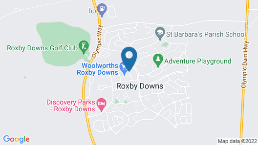 Roxby Downs Motor Inn Map