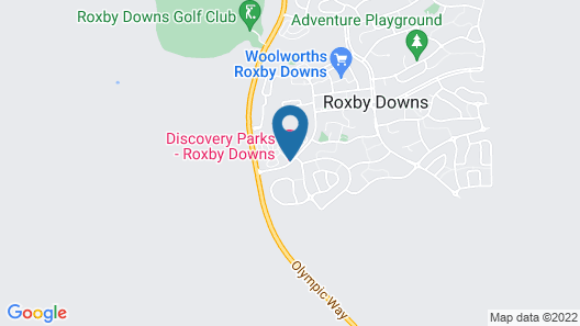 Discovery Parks – Roxby Downs Map