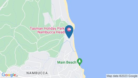 BIG4 Nambucca Beach Holiday Park Map