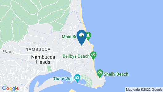Reflections Holiday Parks Nambucca Heads Map