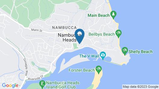 Riverview Boutique Motel Map