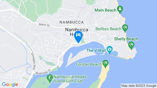Motel Miramar Map