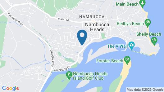 Riverside Rest Nambucca Heads Map