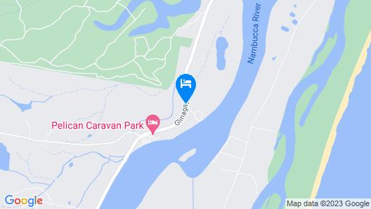 The Nambucca Motel Map