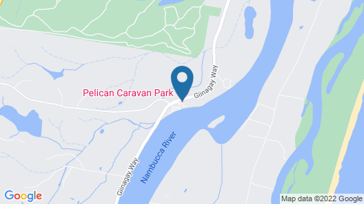 Pelican Caravan Park Map