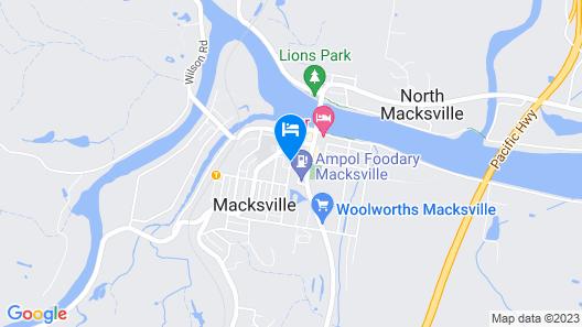 Mandarin Motel Macksville Map