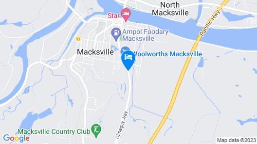 Mid Coast Motor Inn Map