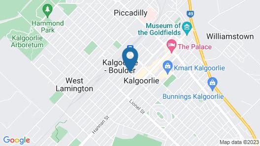 Ibis Styles Kalgoorlie Map