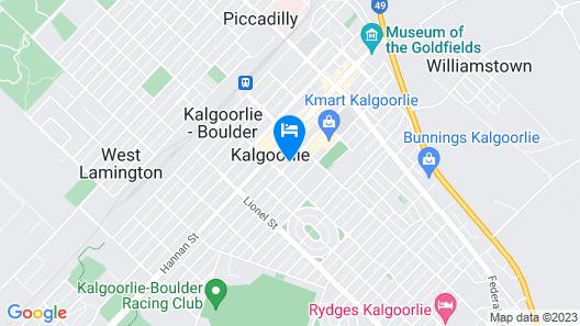 Quest Yelverton Kalgoorlie Map