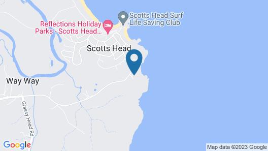 OceanScape Luxury Beachfront Villas Map