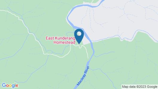 East Kunderang Homestead Map
