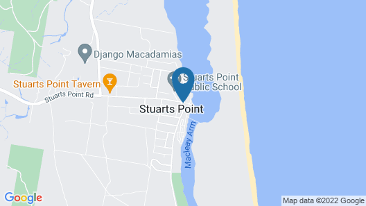 Stuarts Point Holiday Park Map