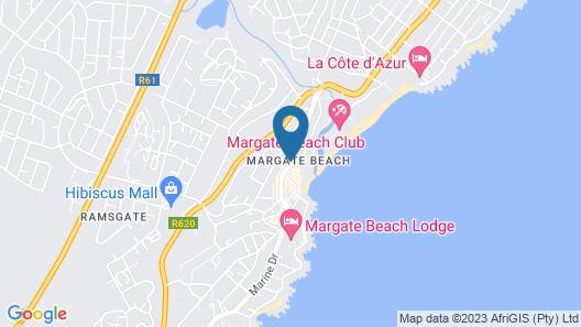 Margate Hotel Map