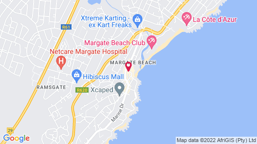 First Group Margate Sands Map