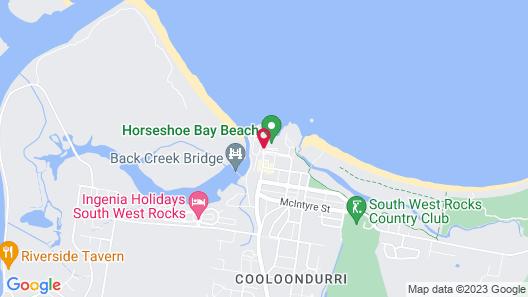 Horseshoe Bay Holiday Park Map