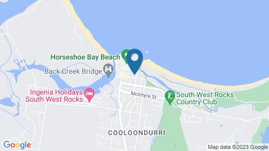 Dunbar Court Unit 4 at South West Rocks Map