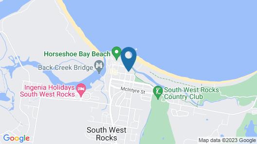 Ocean Shores Unit  No 4 Map