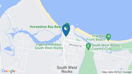 Seabreeze 3 at South West Rocks Map