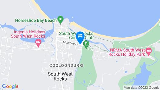 Rockpool Motor Inn Map