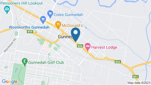 Gunnedah Motor Inn Map
