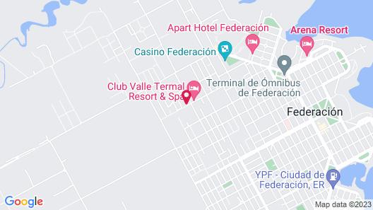 Totoras Apart Federacion Map