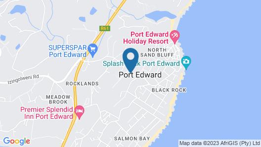 Port Edward Holiday Resort Map