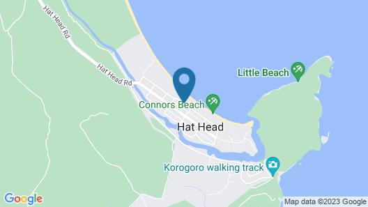 Casa De Tobo at Hat Head Map