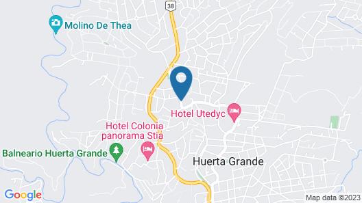 Posada Spa La Arabela Map