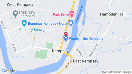 City Centre Motel Map