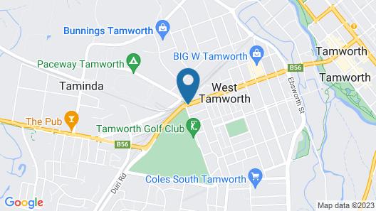 Golf Links Motel Map