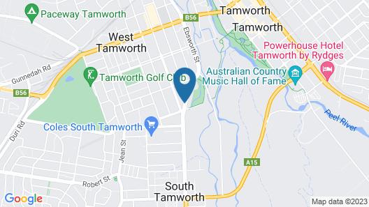 Motel Grande Tamworth Map