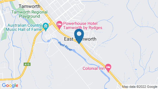 The Stagecoach Inn Motel Map