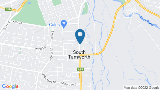 Redhill Tamworth Motor Inn & Conference Centre Map