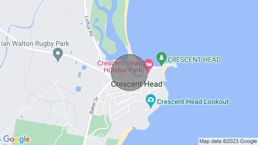 Beachfront 4, 25 Willow Street, Map