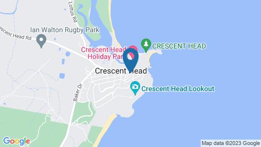Blue Moon @ Crescent Head Map