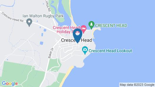 Oceans 12 @ Crescent Head Map