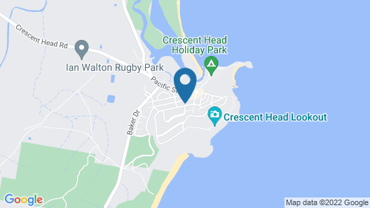 Chaddies Beach House Map