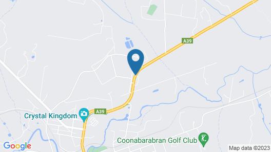 Amber Court Motel, Coonabarabran Map